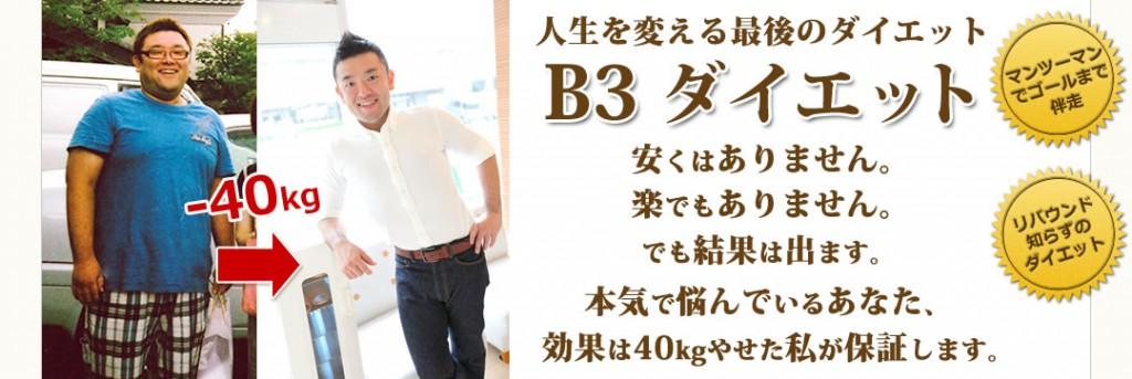 B3ダイエットホームページへのリンク
